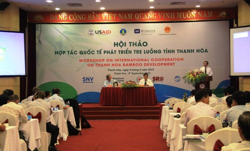 Hội thảo hợp tác quốc tế phát triển tre luồng tỉnh Thanh Hóa